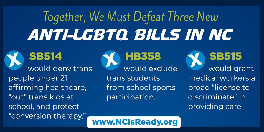 400+ North Carolina Medical Providers Sign Letter Opposing Bills Targeting Transgender Youth